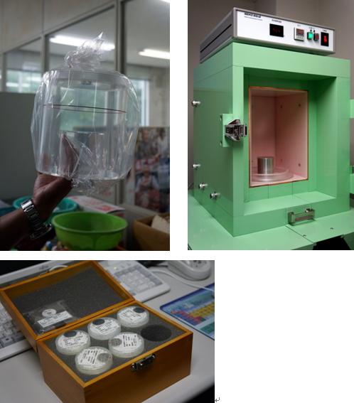 放射能を測定する機器として、厚労省の定める公定法に記載されている検出器